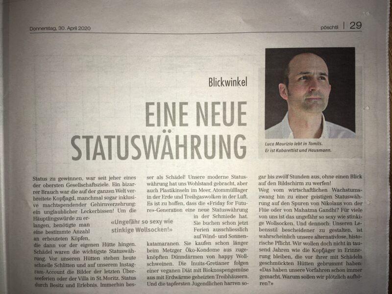 "Kolumne ""Blickwinkel"""